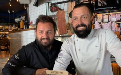 IVAN MORALES y ÁLVARO CASTELLANOS, los Chefs españoles estrella Michelin más solidarios.