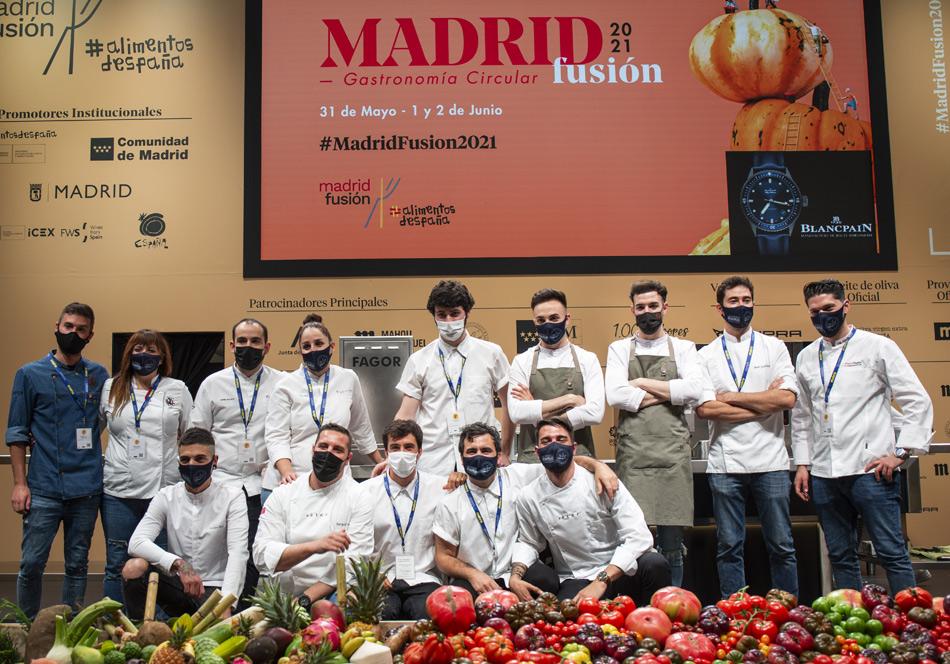 cocineros revelación MADRID FUSIÓN 2021